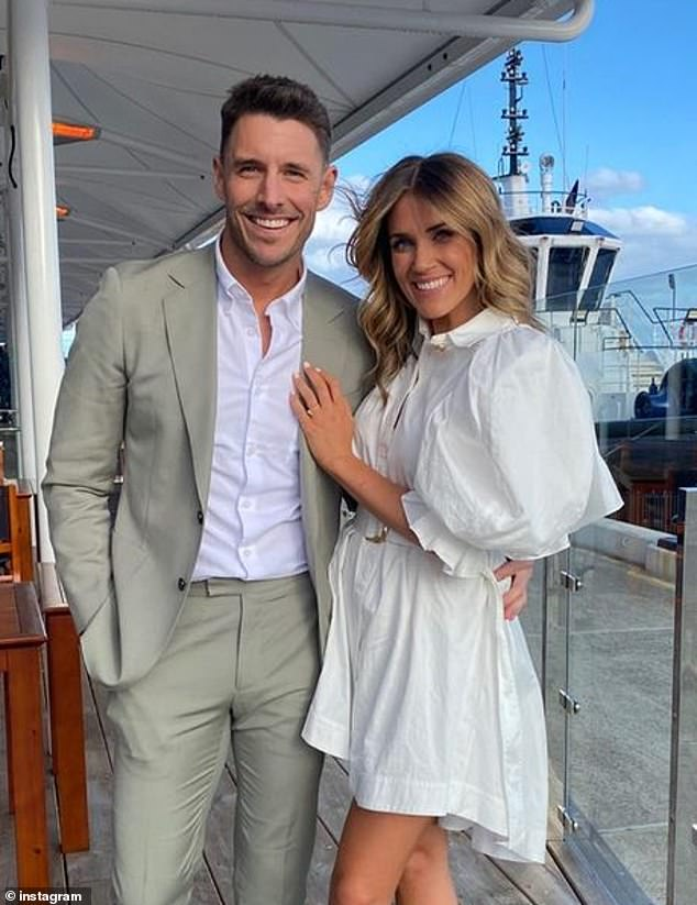 To do again!  Speaking to Instagram, the Seven News reporter, 32, reposted another return photo from her marriage to Lee Elliott, which took place nearly five months ago