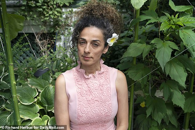 Alinejad said she was shocked when the FBI handed over her surveillance photos, taken on behalf of the Iranian spies, who showed her in her beloved garden
