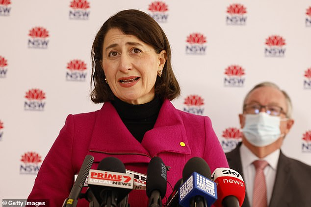 NSW Premier Gladys Berejiklian on Thursday was unable to say how many days of zero infectious Covid cases in Sydney would be needed before lockdowns were lifted, even though they are due to end on July 30