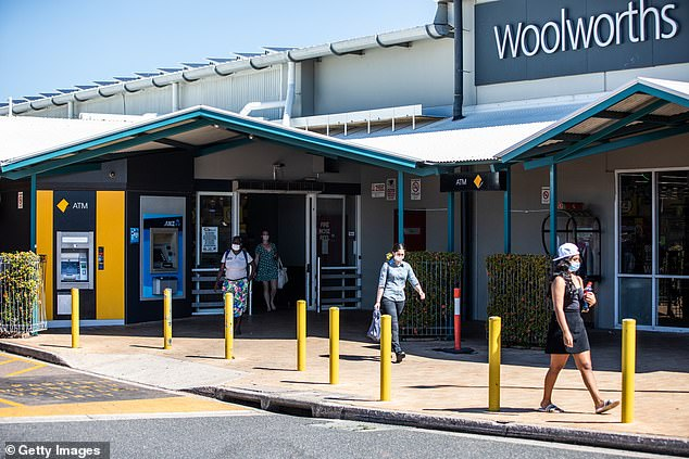 Casuarina Woolworths in Darwin's northern suburbs implements secure cabinets to lock up deodorant in aerosol cans away from customers