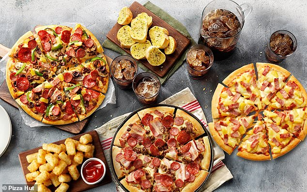 Pizza Hut has announced it will give away 285,000 free pizzas that's enough to span the size of 877 tennis courts