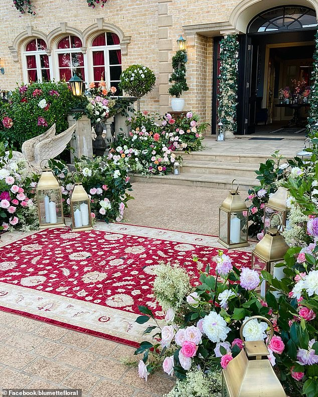Meet the local florists who are making the Bachelor Mansion for Love: Sydney-based stylists share behind-the-scenes footage of the set showing their stunning flower arrangements
