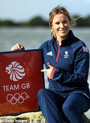 Hannah Mills becomes the first female sailor to carry the Union flag at the opening ceremony