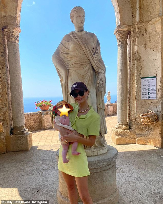 Italian adventure!  Emily spent this week in Italy with her husband Sebastian Bear-McClard and their newborn baby Sylvester