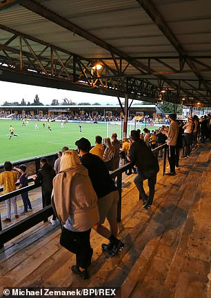 Cambridge welcomed some fans in December, but hopes for 7,000 against Oxford