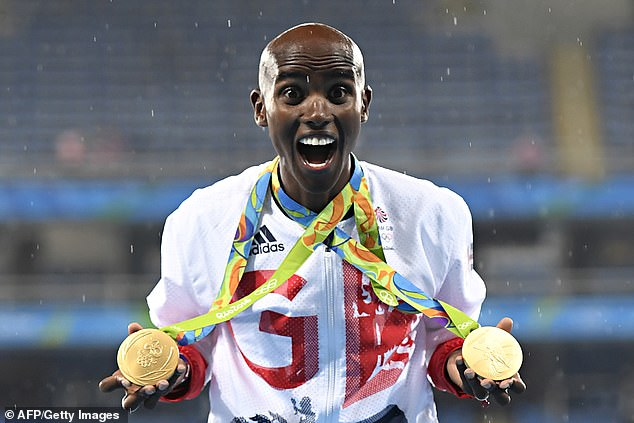 Sbihi added that he was inspired by fellow Muslim Mo Farah, who has won four Olympic gold medals