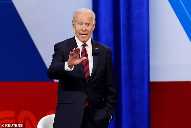 Biden addressed the need for Democrats and Republicans to work together and investigate the Jan. 6 Capitol Hill riot at a town hall event Wednesday in Cincinnati, Ohio.