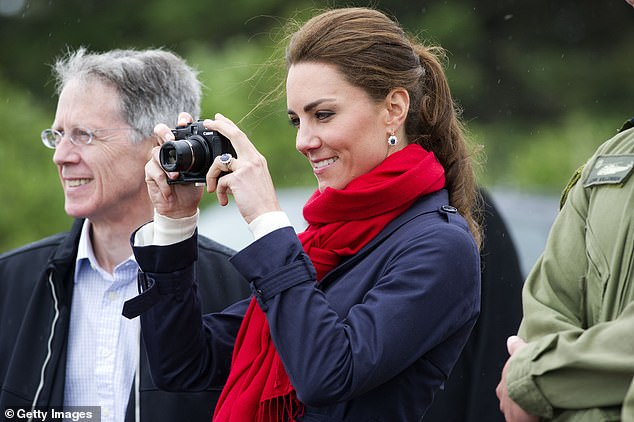 Kate Middleton is an avid amateur photographer and is known for releasing candid snaps of her children