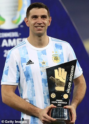 Emiliano Martinez left Arsenal last summer and has continued to thrive since winning the Copa America with Argentina
