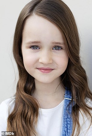 Molly's promotional photo from her IMDB.com profile.  She already has an appearance in a TV thriller under her belt