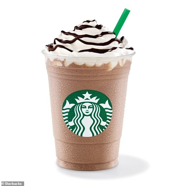 Starbucks java Chip Frappuccino came in sixth in summer drinks analyzes and contains 46.5 g of sugar and 382 calories