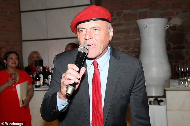 Curtis Sliwa, seen above at a fundraiser in Tribeca, founded the crime patrol group Guardian Angels in 1979.  He is the Republican nominee for mayor of New York