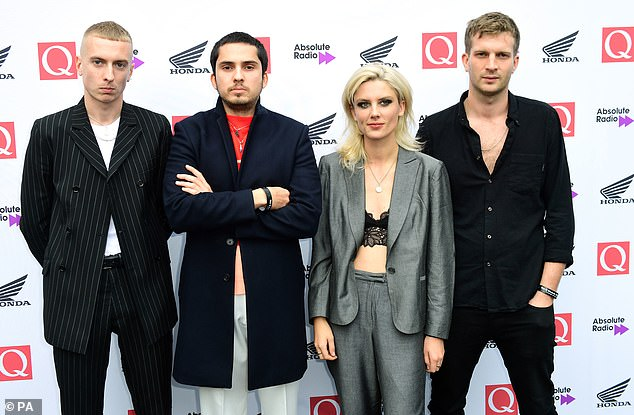 Regular nominees: Wolf Alice (pictured in 2018) won the 2018 Mercury Prize with their sophomore album Visions Of A Life, while their 2015 debut My Love Is Cool also tapped