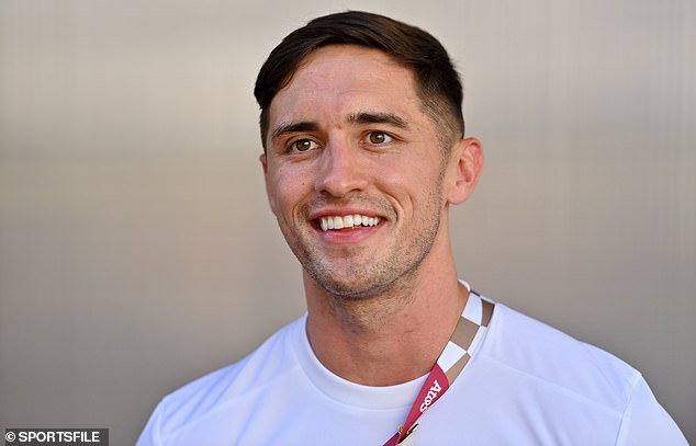 Klaar voor de wedstrijd: de 26-jarige werd geselecteerd als lid van de Ierse Rugby Sevens-spelers en maakte de reis naar Japan voorafgaand aan de start van de wedstrijden