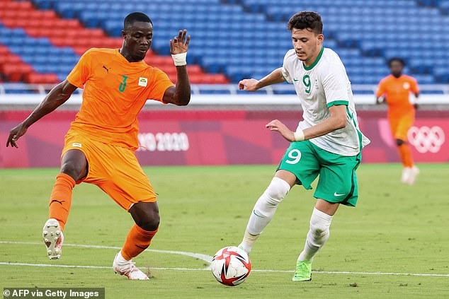 United defender Eric Bailly (left) helped Côte d'Ivoire to a winning start at the Olympics