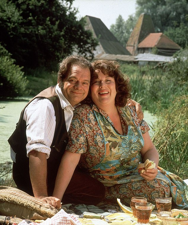Originals: David Jason and Pam Ferris portrayed lovable Pop and Ma in The Darling Buds Of May back in the Nineties