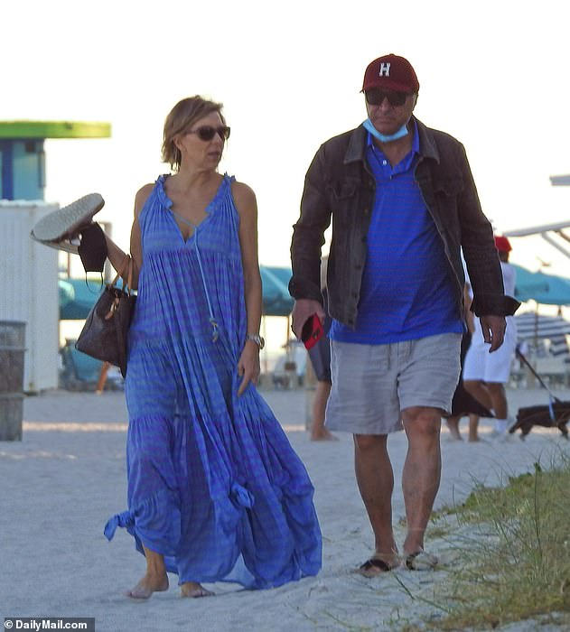O'Leary his wife in Miami not long after the crash.  She will be back in court in July