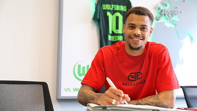Nmecha signed for Wolfsburg after the Citizens were his parent club since he was eight acht