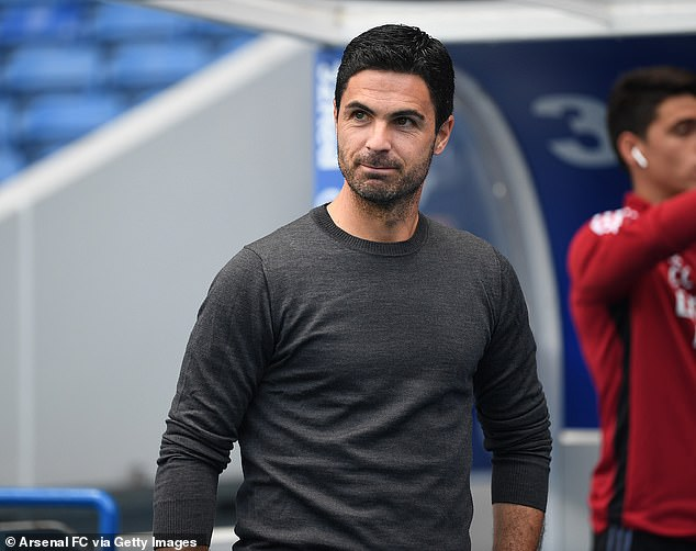 Arsenal manager Mikel Arteta is looking to strengthen his strike force for the new season