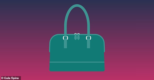 Nearly two-thirds (63%) of people see a green handbag, while 37% of participants see it as blue