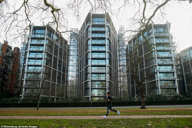 Property tycoon Nick Candy took out an £80million mortgage with Credit Suisse on the luxury apartment in the capital