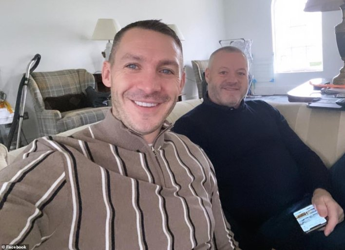 TOWIE's Mick Norcross was seen beaming next to his son Kirk in his last photo, taken three weeks before he was found dead at age 57.  Kirk found his father dead, according to today's investigation, where he described his father's mental health problems during the lockdown