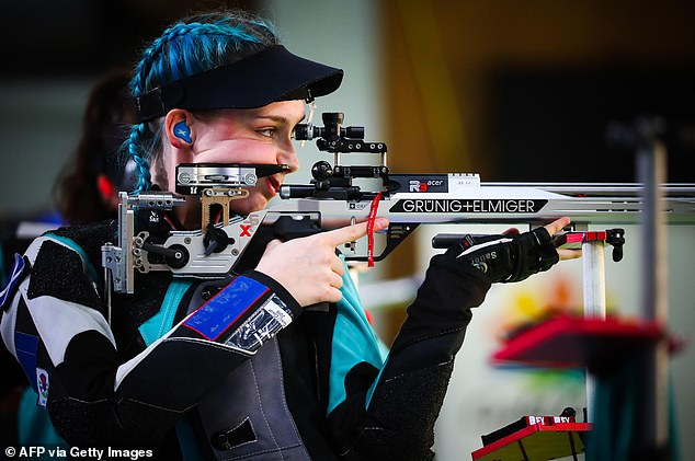 Seonaid McIntosh is considered Britain's most successful female rifle shooter of all time tijden