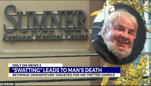Haring died at Sumner Regional Medical Center after suffering a heart attack as a result of the prank