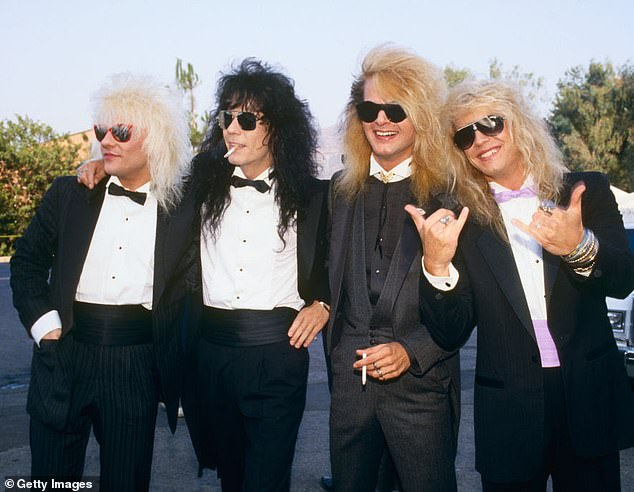 The 80s were the decade of decadence with hair bands like Bret Michael's Poison