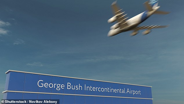 The snails, 0.25 pounds of dried beef and fresh leaves were seized at George Bush Intercontinental Airport