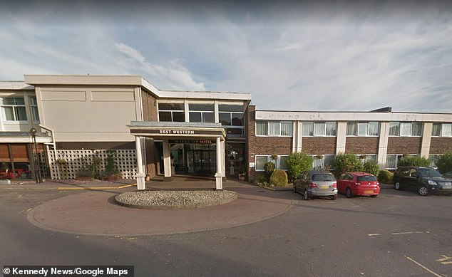 Best Western have now apologised, claiming they are 'hugely embarrassed, but insist the general manager's objection was due to the term 'party animals' and not their group's bodies