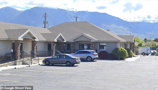 A caregiver at Roost Services in American Fork, Utah (pictured) could face criminal charges for negligently leaving the disabled boy to die in the hot car, police say
