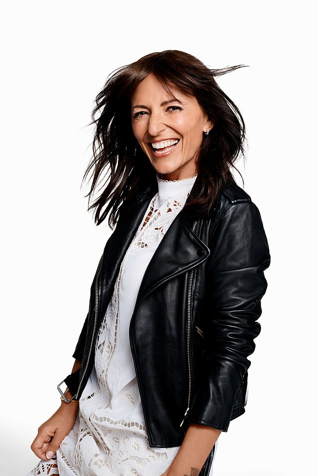 Looks good!  Amanda teams up with former Big Brother presenter Davina McCall, 50, for the new fashion campaign