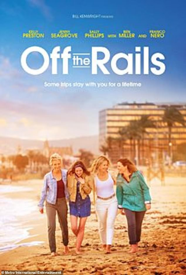Plot: Off The Rails follows friends Liz (Sally Phillips), Kate (Jenny Seagrove), and Cassie (Kelly Preston) as they embark on an interrail journey across Europe after the death of their friend Anna