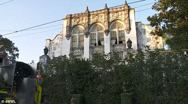 Alarm:A New Orleans mansion reportedly own by megastars Beyoncé and Jay-Z caught fire on Wednesday night