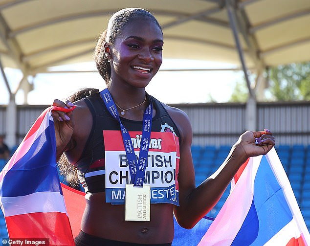 Asher-Smith described protesting racism as a 'fundamental human right'