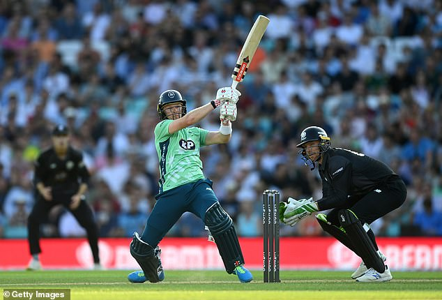 Sam Billings came up half a century short but scored the best for Oval Invincibles when they beat Manchester Originals
