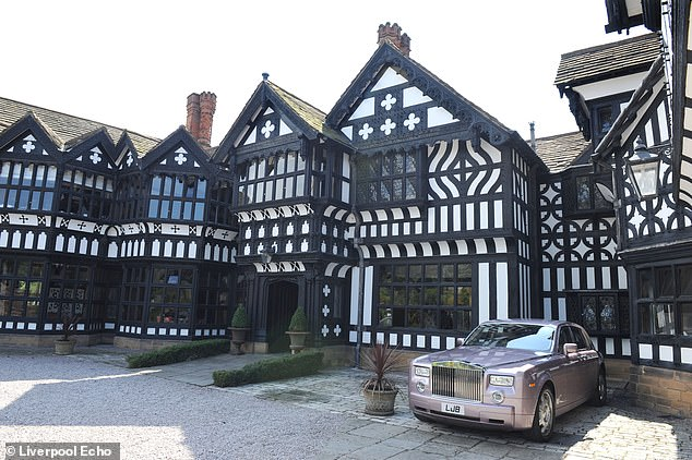 The Hillbark Hotel, pictured above.  Staff were caught on CCTV wandering around the hotel in two groups - those who agreed with the decision and those who didn't