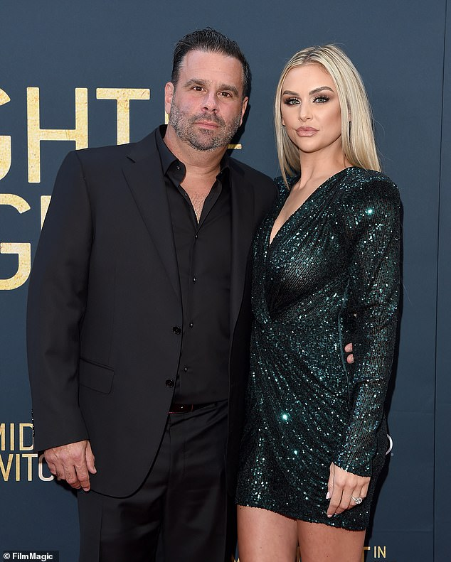 Red carpet: Director Randall Emmett and his Vanderpump Rules fiance La La Kent appeared at the film's premiere in LA this week