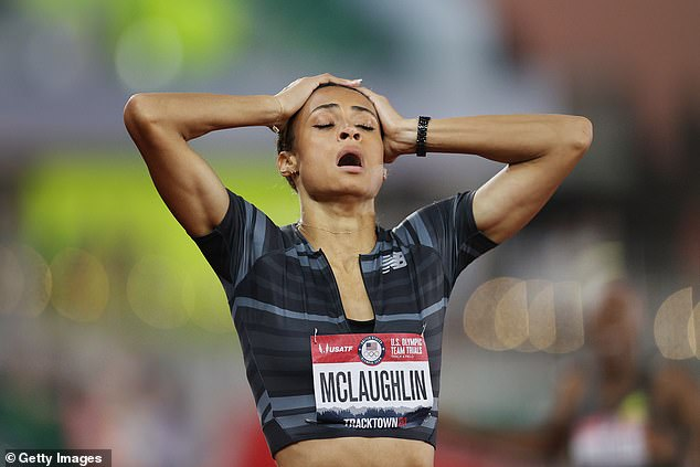 Sydney McLaughlin is someone I've seen rise through the junior ranks