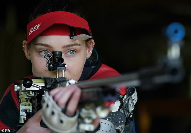 Seonaid McIntosh is tipped to become the first British woman to win Olympic shooting gold