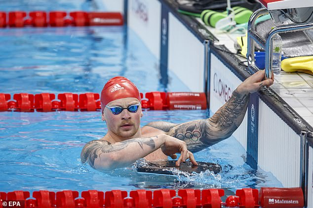 Adam Peaty is a white-hot favourite in the 100m breastroke on day three at the Olympics