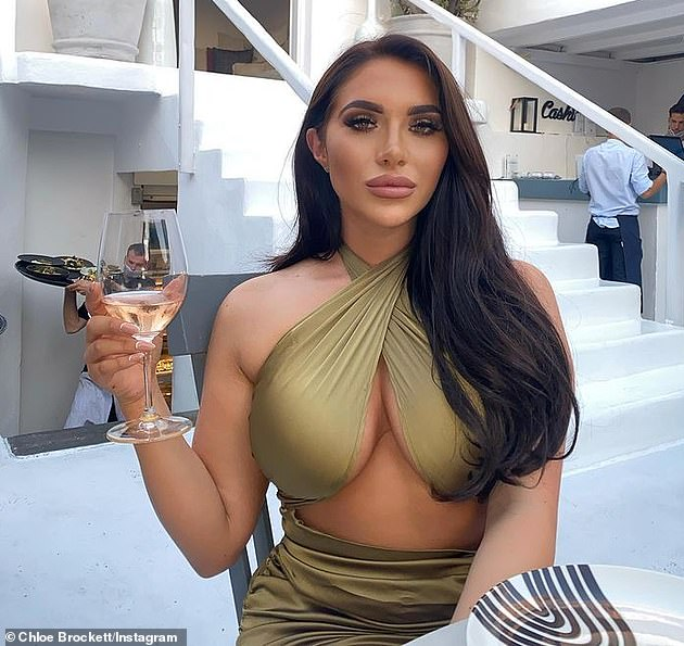 'Disgusting': Chloe Brockett (pictured) confirmed she will remain part of the TOWIE cast, but she slammed stars of the show that have allegedly belittled those who've been dropped