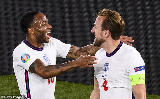 The move would see Kane link up with England team-mate Raheem Sterling at the Etihad