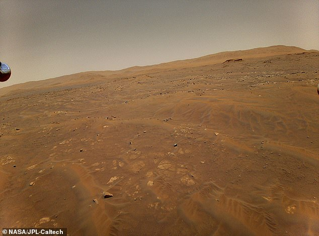 Ingenuity has been used to take photographs of ancient landscapes not suitable for driving over with the heavy Perseverance rover