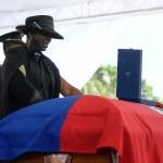 Gunfire breaks out at funeral for assassinated Haitian President Jovenel Moise 💥👩💥