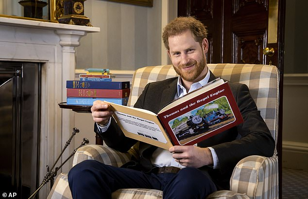 Prince Harry has clinched a lucrative four-book deal – with the second due out only after the Queen has died, the Mail can reveal today