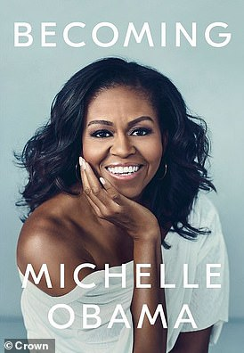 The cover of Michelle Obama's autobiography