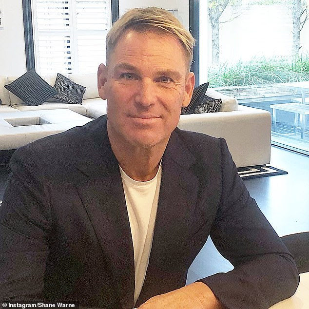 'We will miss you': Shane Warne penned a heartfelt tribute to his 'good mate and former manager' the late John 'Strop' Cornell on Friday