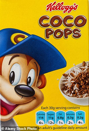 Coco Pops may cost more if the Government implements a sugar tax on food